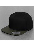 Flexfit Snapback Cap Perforated Visor olive