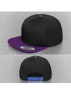 Flexfit Snapback Cap Baseball schwarz