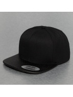 Flexfit Snapback Cap Perforated Visor schwarz
