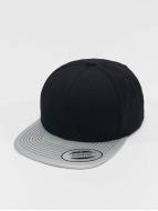 Flexfit Snapback Cap Metallic Visor schwarz