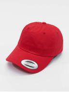 Flexfit Snapback Capler Low Profile Cotton Twill kırmızı