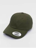 Flexfit Snapback Caps Low Profile Cotton Twill oliwkowy