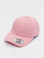 Flexfit Snapback Caps Low Profile Cotton Twill pink