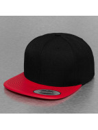 Flexfit Snapback Caps Metallic Visor red