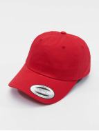 Flexfit Snapback Caps Low Profile Cotton Twill red