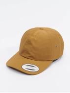 Flexfit Snapback Caps Low Profile Water Repellent ruskea