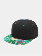 Flexfit Snapback Caps Hawaiian svart