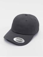 Flexfit Snapback Caps Low Profile Cotton Twil szary