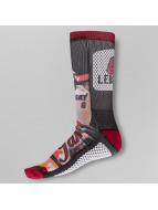 For Bare Feet Chaussettes Lebron James Mesh rouge