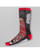For Bare Feet Socken Derrick Rose rot