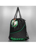 Forever Collectibles Batohy do mesta NBA Diagonal Zip Drawstring Boston Celtics èierna