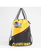 Forever Collectibles NBA Diagonal Zip Drawstring Cleveland Cavaliers Gym Bag Black/Yellow