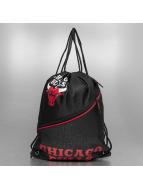 Forever Collectibles Beutel NBA Diagonal Zip Drawstring Chicago Bulls черный