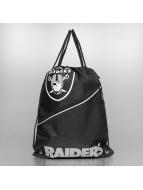 Forever Collectibles Beutel NFL Diagonal Zip Drawstring Oakland Raiders black
