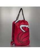 Forever Collectibles Bolsa NBA Cropped Logo Miami rojo