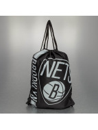 Forever Collectibles Kassit NBA Cropped Logo Brooklyn Nets musta