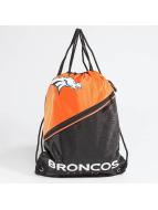 Forever Collectibles Kassit NFL Diagonal Zip Drawstring Broncos musta