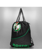 Forever Collectibles Sac à cordons NBA Diagonal Zip Drawstring Boston Celtics noir