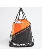 Forever Collectibles Sacchetto NFL Diagonal Zip Drawstring Broncos nero
