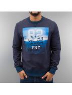 Frank NY Пуловер We Can синий