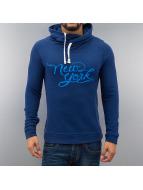 Frank NY Hoody Logo blau