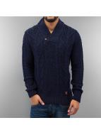 Frank NY Pullover Knit blau