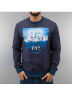 Frank NY Pullover We Can blau