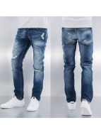 Frank NY Straight fit jeans Tommy blauw