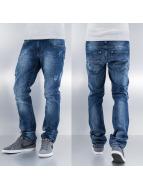 Frank NY Straight fit jeans Lacivert blauw