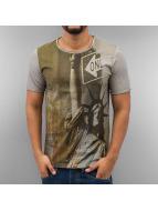 Frank NY T-paidat Liberty harmaa
