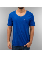 Frank NY T-Shirt Pocket blau