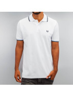 Fred Perry Polo Tipped blanc