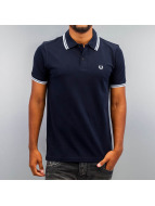 Fred Perry Polo Tipped bleu