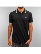 Fred Perry Poloshirt Tipped black