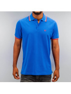 Fred Perry poloshirt Tipped blauw