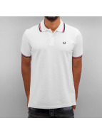 Fred Perry Poloshirt Tipped weiß