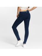 Freddy Облегающие джинсы Regular Waist синий