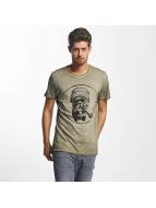 French Kick Bavu T-Shirt Khaki