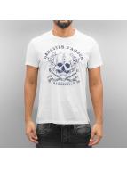 French Kick Amphitryon T-Shirt White/Navy