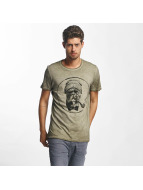 French Kick T-Shirt Bavu khaki