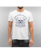 French Kick Amphitryon T-Shirt White/Navy