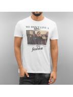 French Kick T-Shirt Toilet Stars white