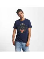French Kick T-shirts Steve blå
