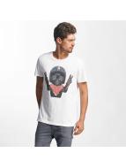 French Kick Steve T-Shirt White