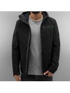 G-Star Демисезонная куртка Batt Hooded Overshirt черный