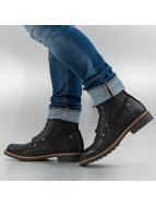 G-Star Boots Labour Leather zwart