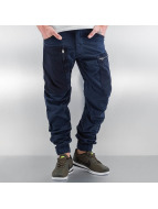 G-Star Cargo pants Powel PM 3D Tapered Cuffed Scota Weave blue