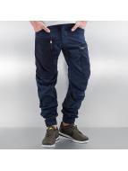G-Star Pantalon cargo Powel PM 3D Tapered Cuffed Scota Weave bleu