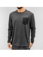 G-Star Pitkähihaiset paidat Rinep Pocket Jisoe Jersey musta