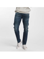 G-Star Slim Fit Jeans 3301 Dava Strech Deconstructed blauw